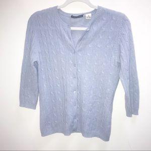 Autumn Cashmere cardigan sweater